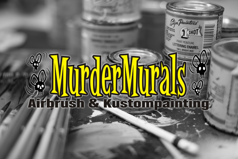 Murdermurals Airbrush Pinstriping Ruhrpott Studio
